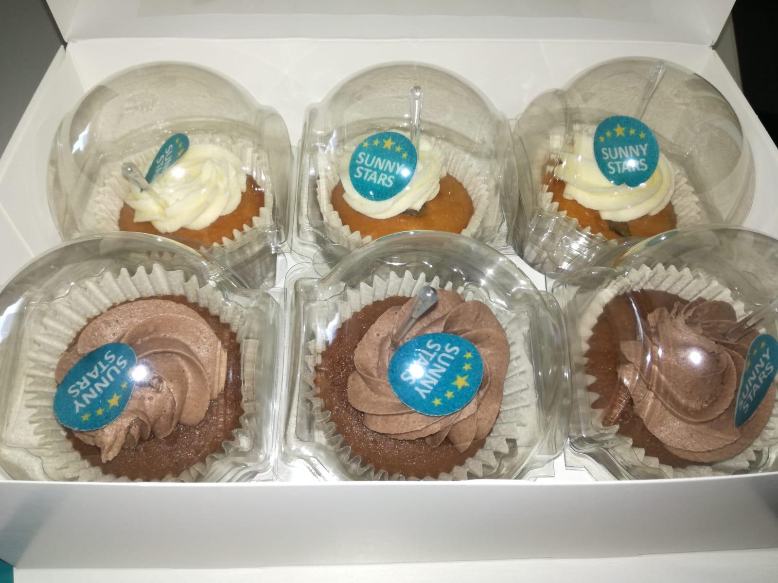 Sunny Stars Belohnung Cupcakes 1