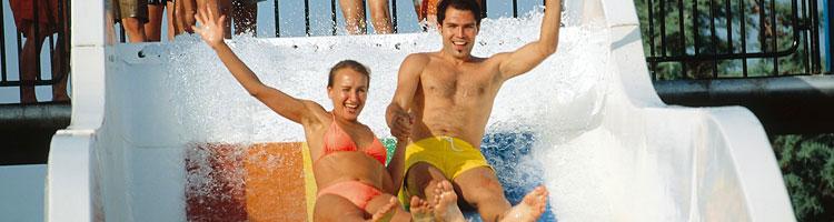 Hotels mit Wasserrutschen Last Minute Urlaub